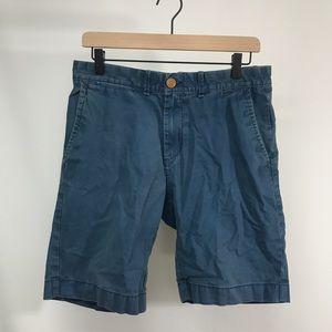 Tommy Hilfiger Custom Fit Navy Blue Khaki Shorts